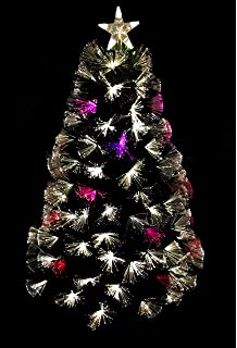 Premier Decorations 4ft Fibre Optic Colour Changing Firework Christmas Concepts