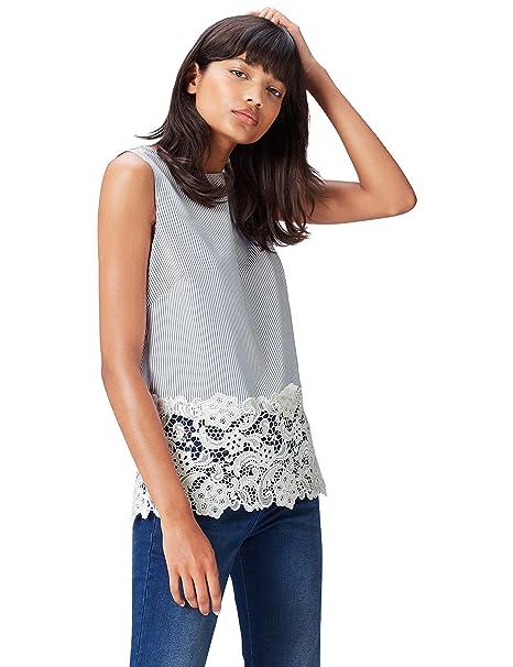 Blusas de blonda a la moda