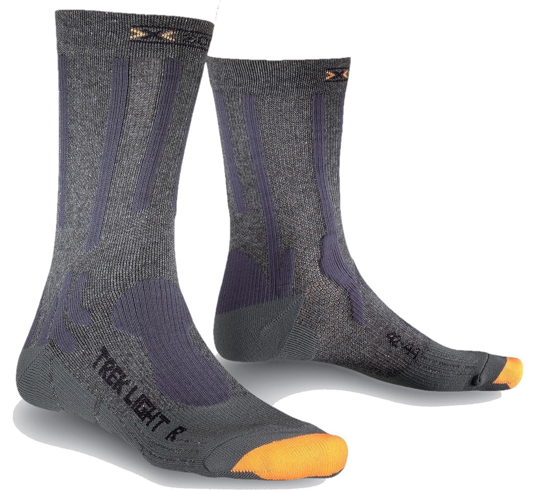 X-Socks Trekking - Calcetines de senderismo, color x01 negro: Amazon.es: Deportes y aire libre