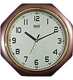 Ajanta Plastic Step movement Clock (24.5 cm x 24.5 cm x 3.8 cm)