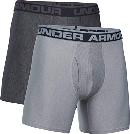 TALLA XL. Under Armour O Series 6'' Boxerjock 2 PK - Ropa Interior Hombre