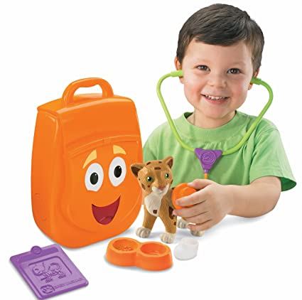 Fisher-Price Go Diego Go My Talking Rescue Pack Action & Toy Figures at amazon