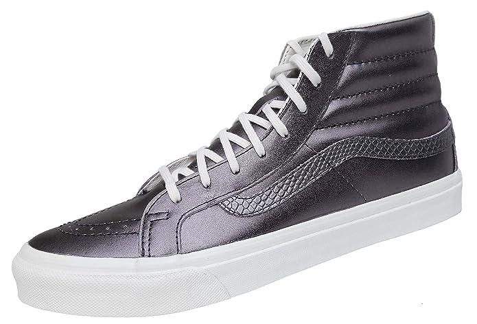 Vans Sk8-Hi Slim, Scarpe da Ginnastica, Donna, (Metallic) Thiste Purple (metallic  purple): Amazon.it: Scarpe e borse