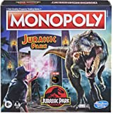 Hasbro Gaming Monopoly: Jurassic Park Edition Board Game for Kids Ages 8 and Up, Includes T. Rex Monopoly Token, Electronic G