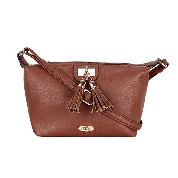 Koel by Lavie Rhone Women's Sling Bag with No (Tan)