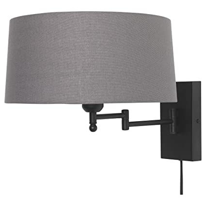 sports shoes f89d3 afe79 IKEA 404.205.94 Halkip Wall Lamp with Swing Arm, Gray ...