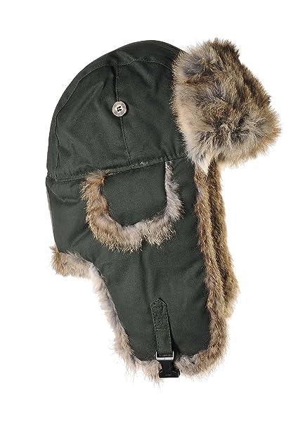 88126b208 Mad Bomber Original Wool Aviator Pilot Hat Real Rabbit Fur Trapper Hunting  Cap