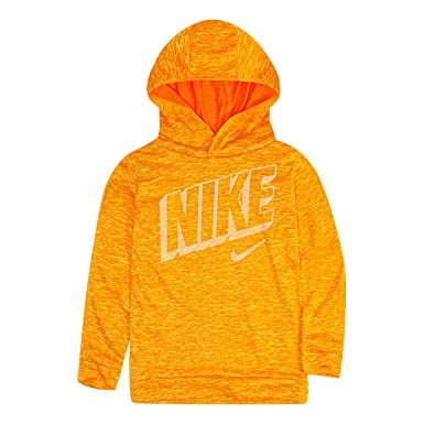 958ac64b NIKE Children's Apparel Boys' Toddler Long Sleeve Hooded T-Shirt, Cone  Heather,