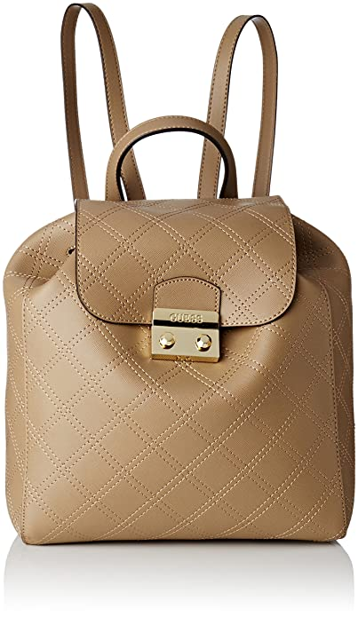 Guess HWARIAP7335, Mochila Mujer, Beige (Taupe), 14x21x31 cm (W x H x L): Amazon.es: Zapatos y complementos