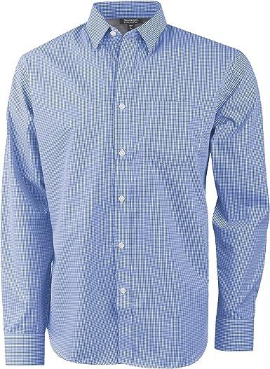 Slazenger -Camisa de Manga Larga Modelo Net para Hombre (Extra Grande (XL)) (Azul): Amazon.es: Ropa y accesorios