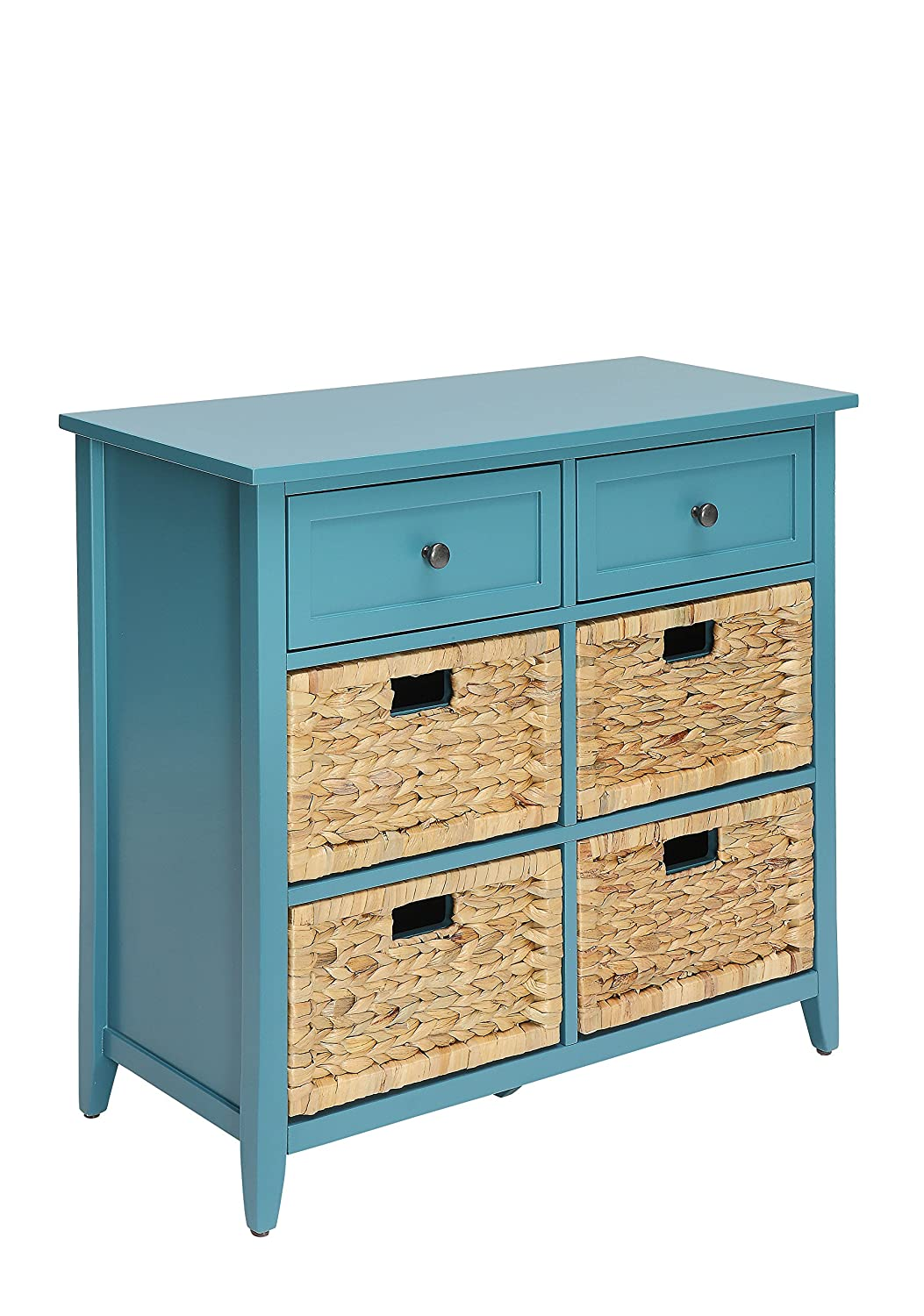 ACME Flavius Teal Accent Chest
