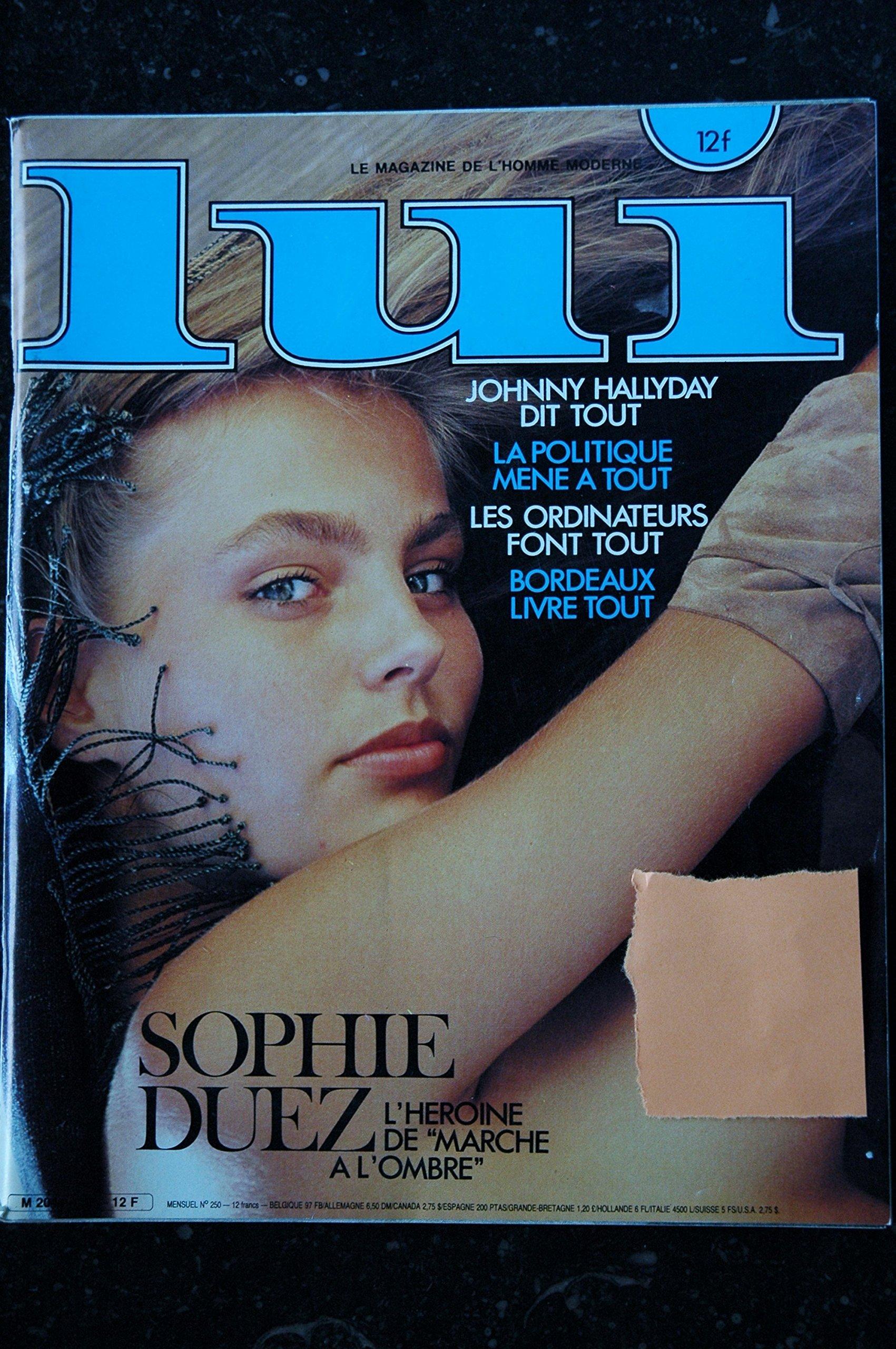Lui 250 Sophie Duez Entierement Nue Hallyday Love Me Tender