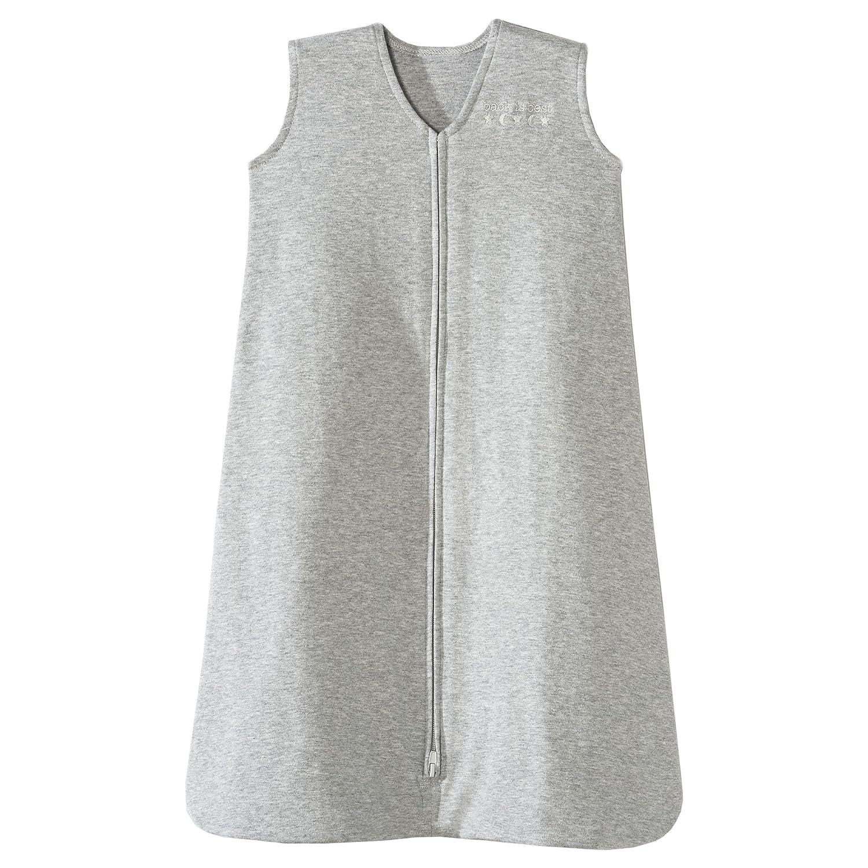 Halo SleepSack 100% Cotton Wearable Blanket, Heather Gray, Medium 10760