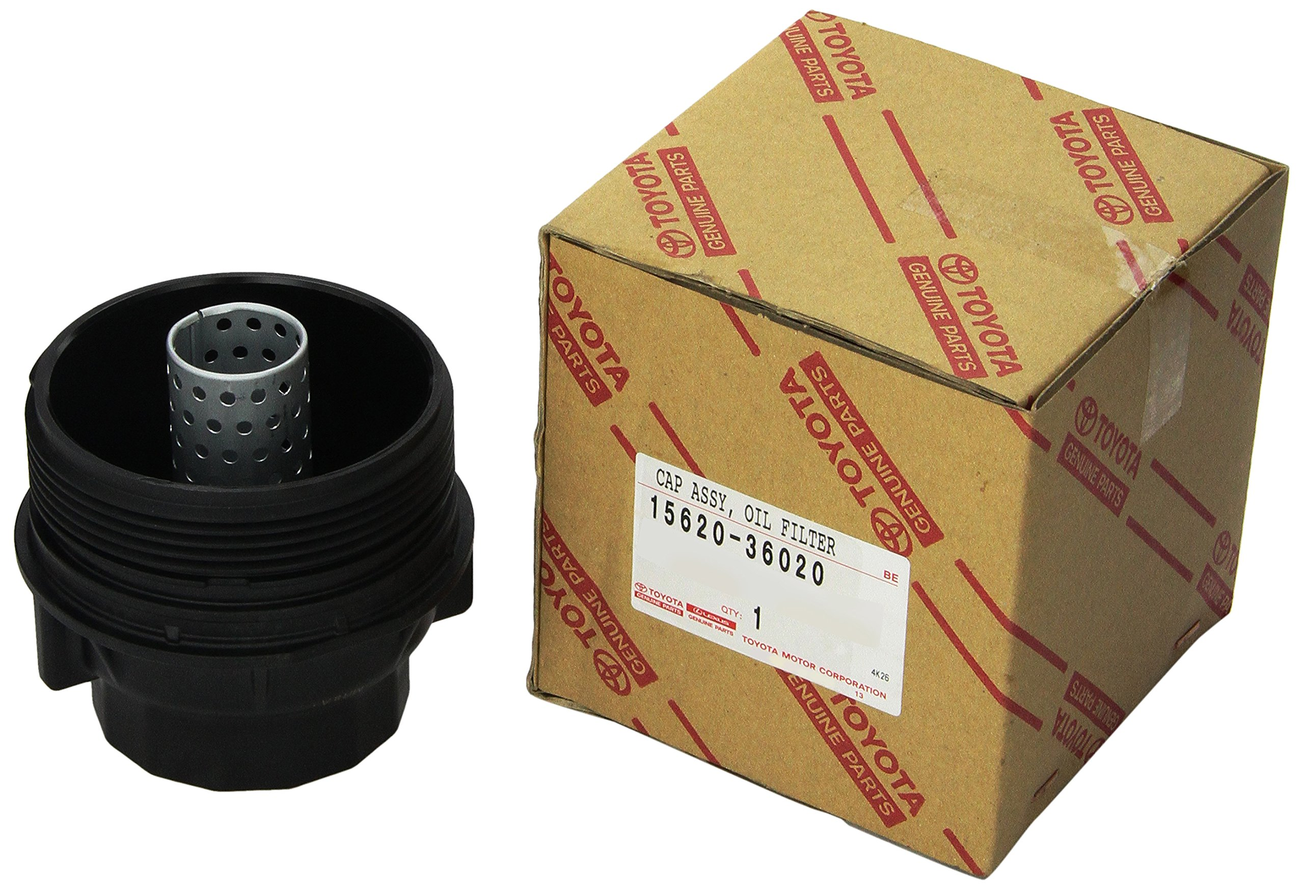 Genuine Toyota 15620-36020 Oil Filter Cap Assembly
