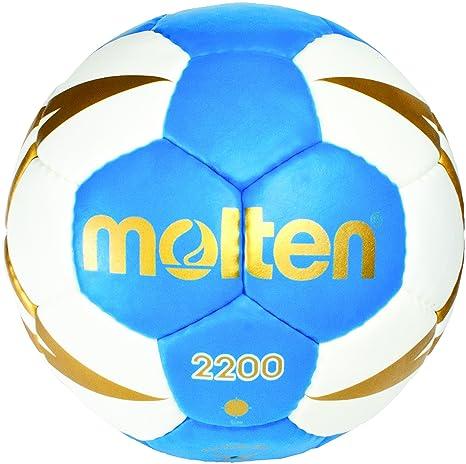 MOLTEN Niños H0 X 2200 de BW de Balonmano, Color Azul, One Size ...