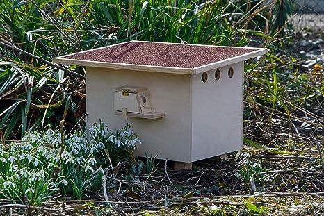 dobar 28275e Caja de abejos Profesional Grande con tejado de betún ...