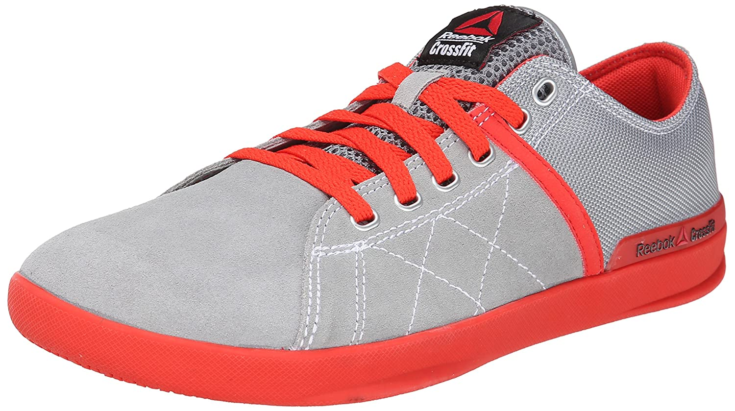 chiave inglese Fiduciosamente Anno  Buy Reebok Men's crosssfit lite lo tr-m, Flat Grey/China Red/White, 10.5 M  US at Amazon.in