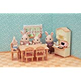 Sylvanian Families Dining Room Set Accessories