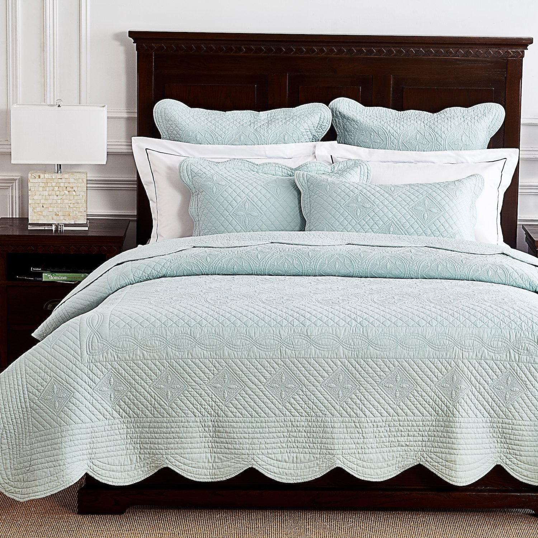 Calla Angel Sage Garden Luxury Pure Cotton Quilt