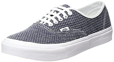 928e0a9a37 Vans Unisex Adults  Authentic Slim Low-Top Sneakers
