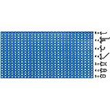 Outifrance 0015043 Panneau perforé en Acier avec 30 crochets 940 x 460 mm