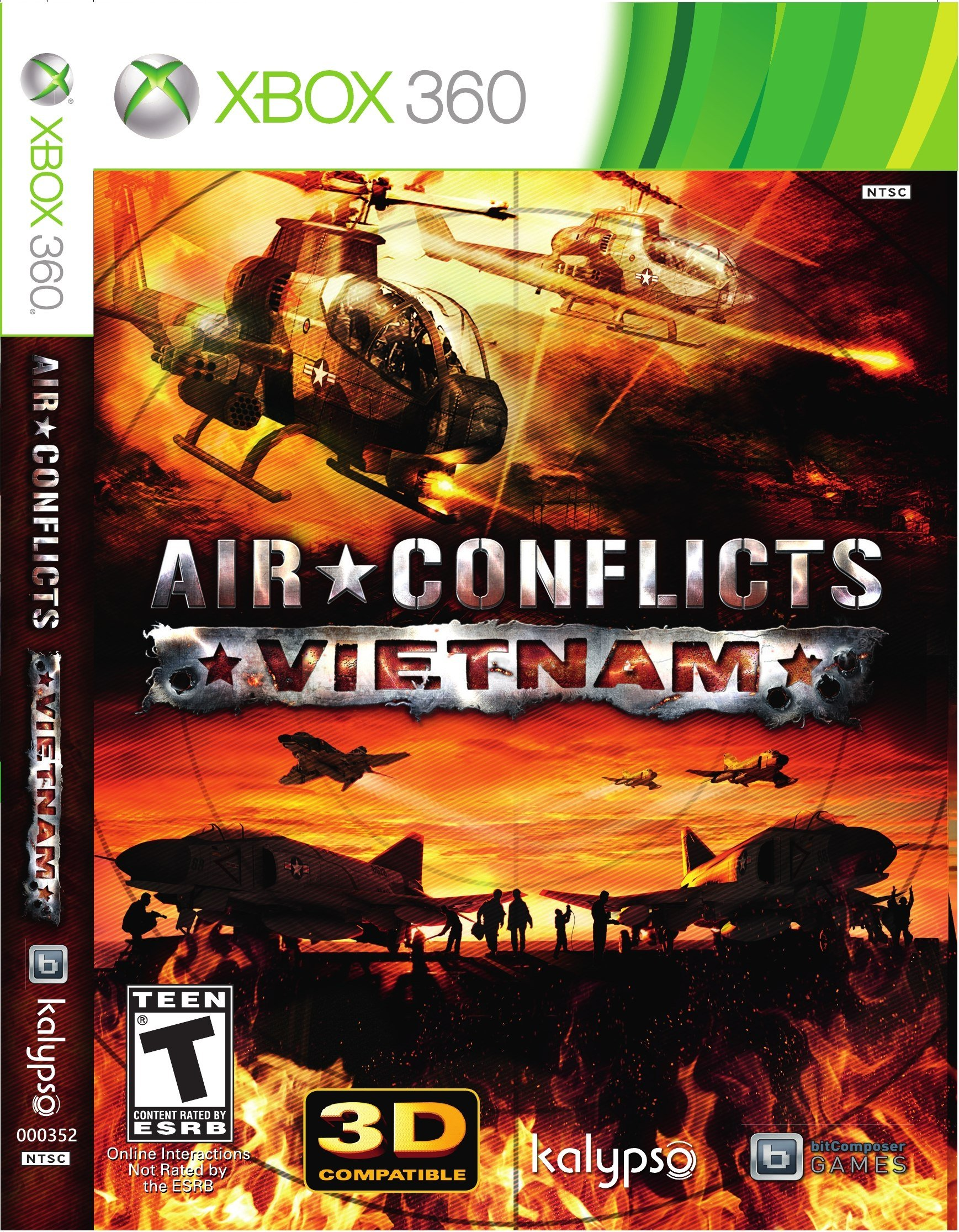 Air Conflicts Vietnam Xbox360-Complex