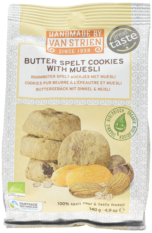 Van Strien Organic Butter Spice Cookies 140 G Pack Of 5 Amazonco