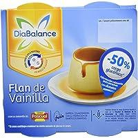 DiaBalance Flan Vainilla - 6 Paquetes de 4