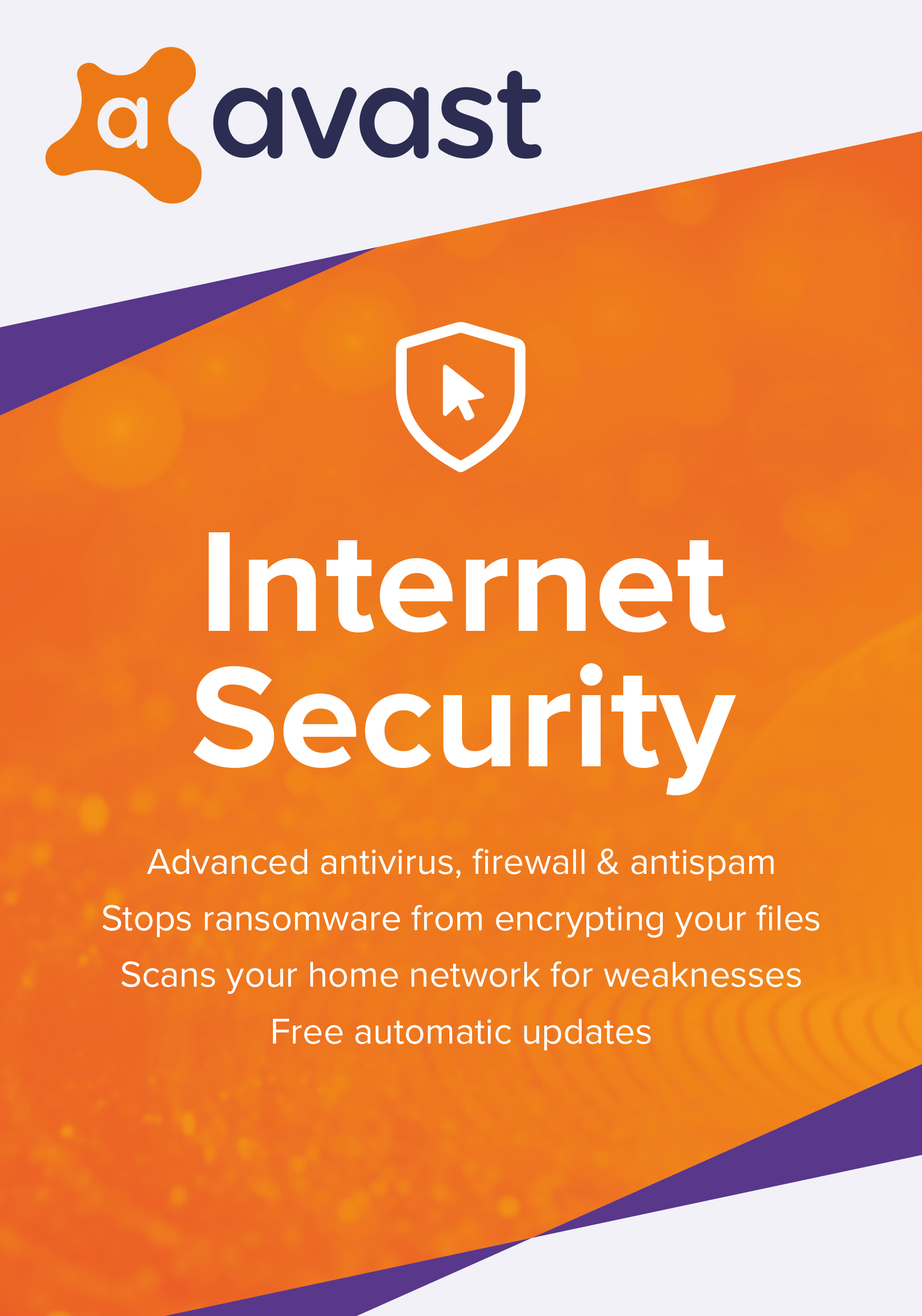 Avast Internet Security 2019 | Antivirus protection software | 1 Year, 3 PCs [Download]