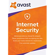 Avast Internet Security 2018 (1 PC, 1 Year) [Download]