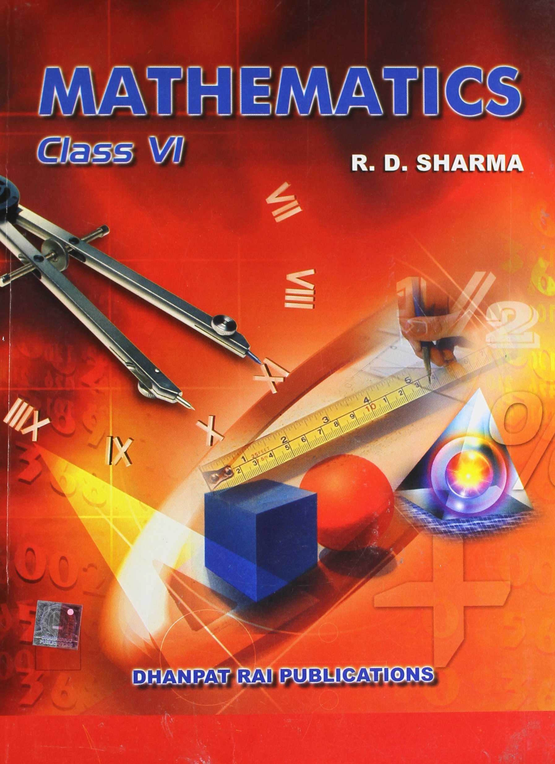 Mathematics for class vi amazon rd sharma books fandeluxe Image collections