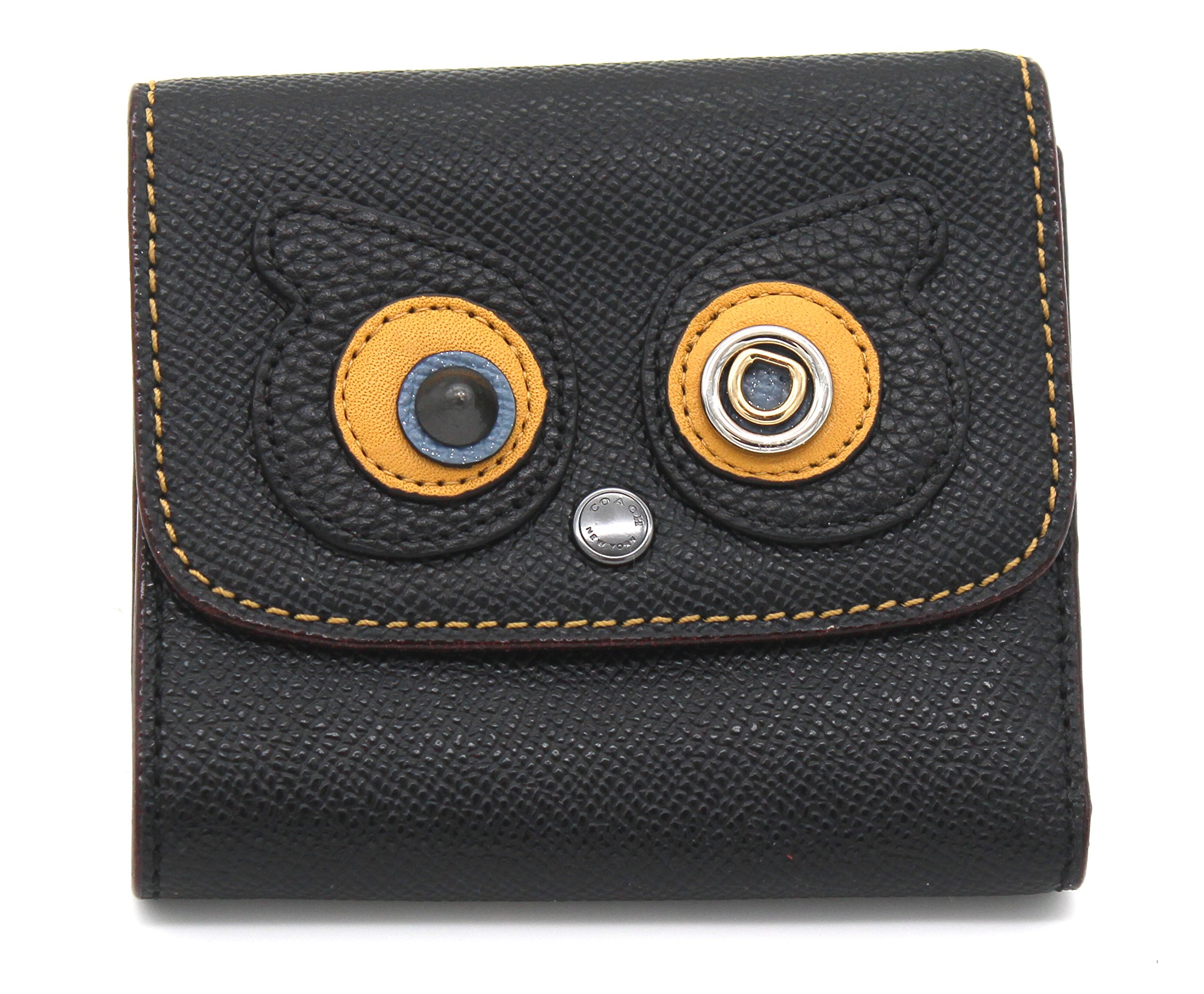 Coach Bear Small Wallet (Black)