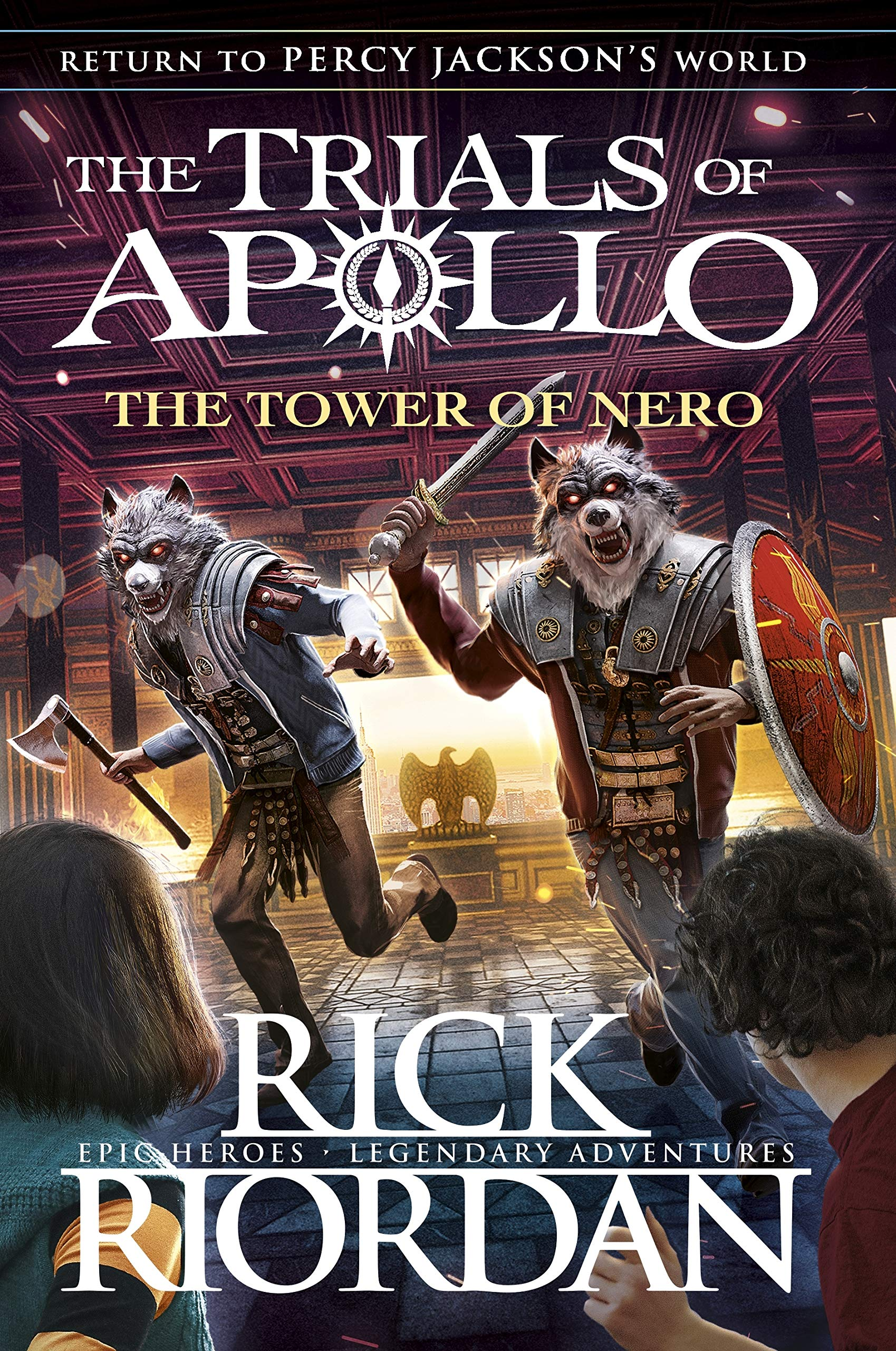 Buy The Tower of Nero (The Trials of Apollo Book 5) Book Online at Low  Prices in India | The Tower of Nero (The Trials of Apollo Book 5) Reviews &  Ratings - Amazon.in