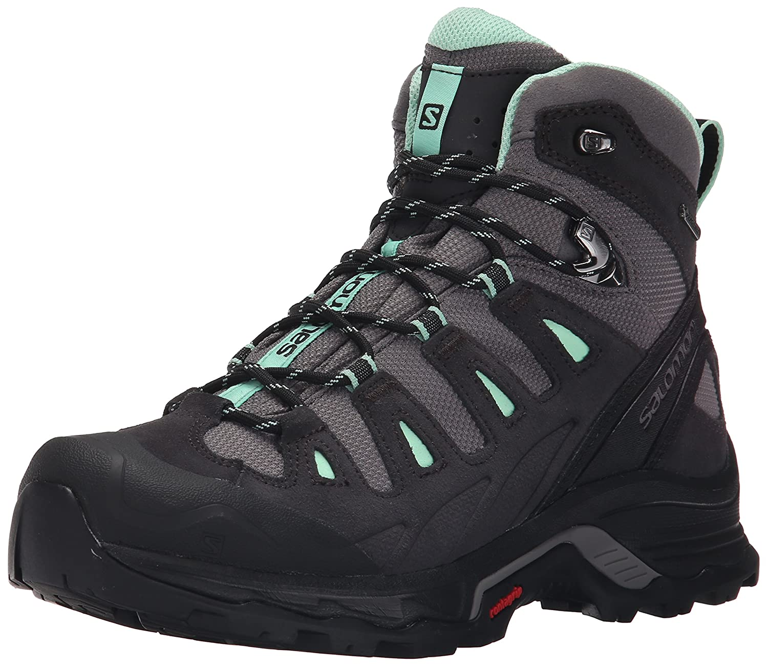 Salomon Women's Quest Prime GTX W Backpacking Boot B00ZLMZ70K 7.5 B(M) US|Detroit/Asphalt/Lucite Green