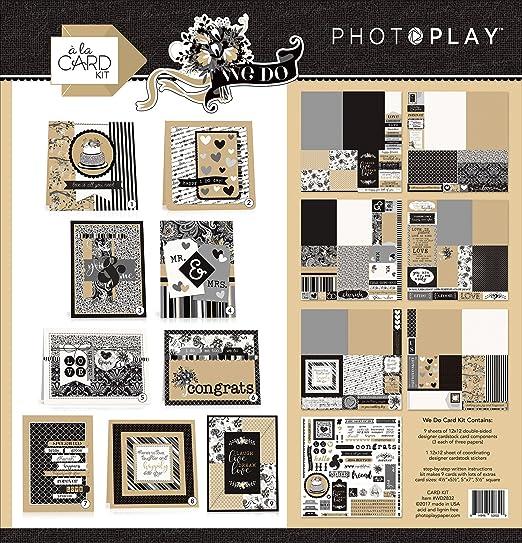 Papel fotográfico Play We do a la Tarjeta Kit, 31.24 x 32.76 ...