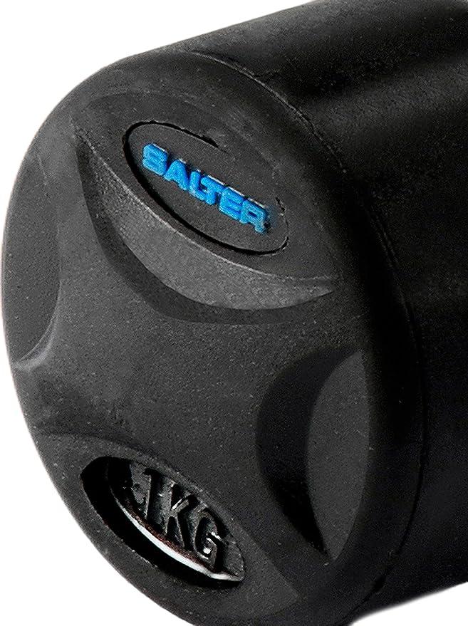 SALTER PT2801 Mancuernas de Caucho, Unisex, Negro: Amazon.es ...