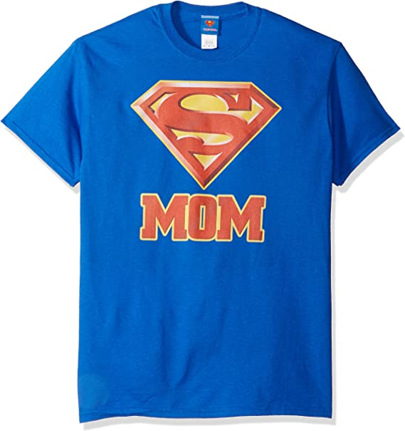 Super Mom Shield -- Superman Adulto Camiseta: Amazon.es: Ropa y accesorios