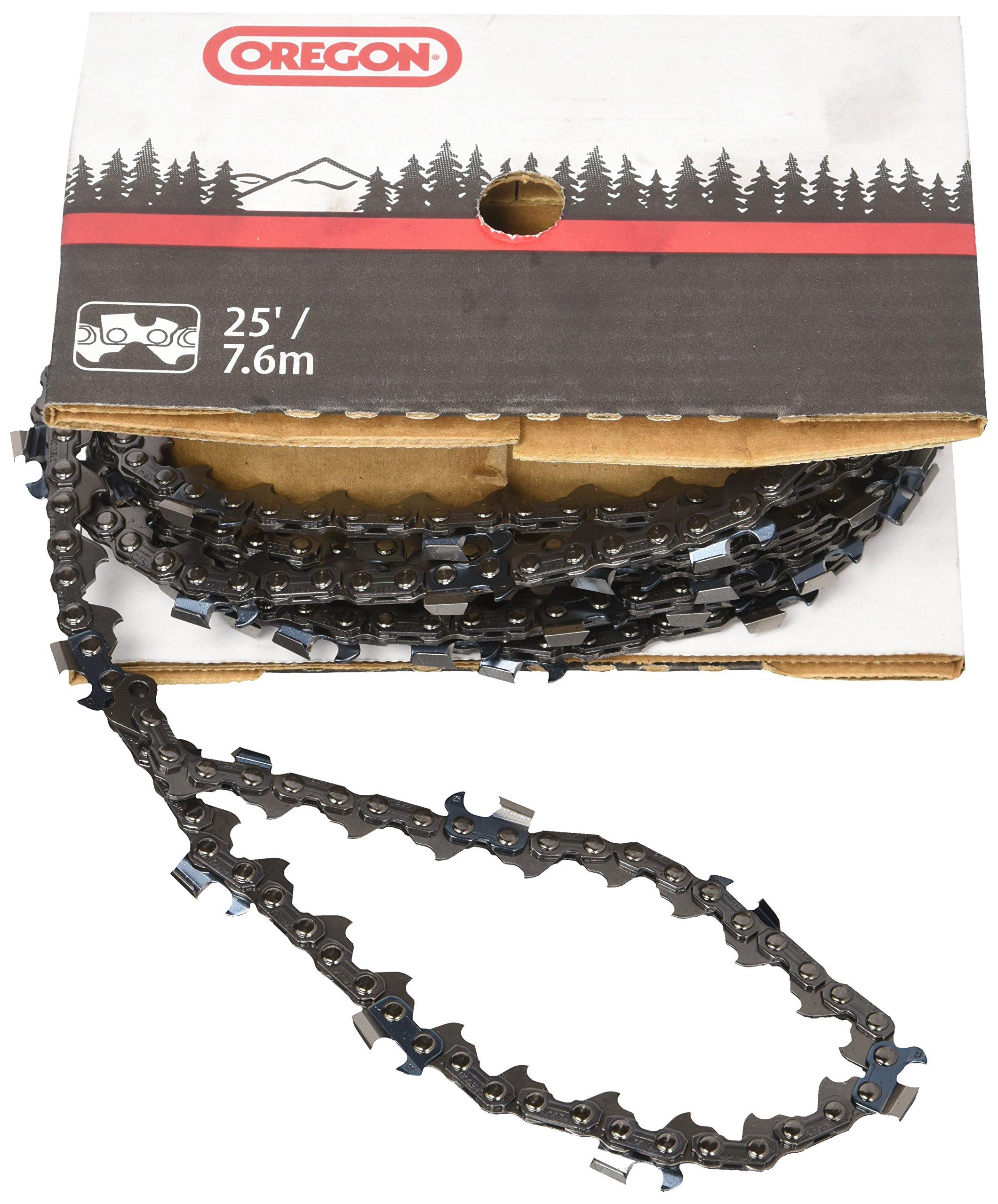 OREGON 73JGX025U 25-Feet Reel of Super Guard Skip Sequence Chain, 3/8-Inch