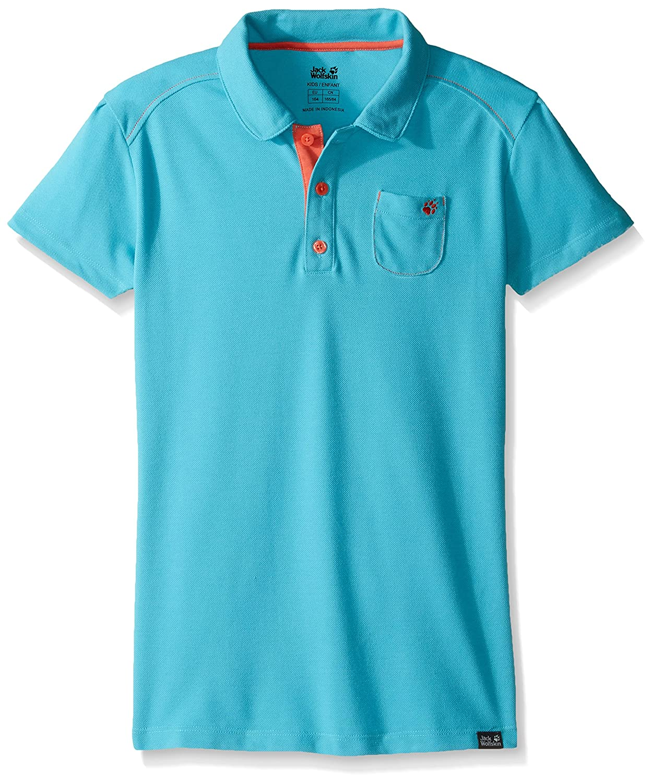 Domestic Jack Wolfskin Girls Pique Polo Shirt Jack Wolfskin