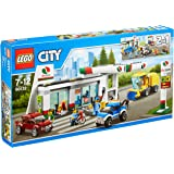 Lego 60132 - City - Jeu de construction - La Station-service