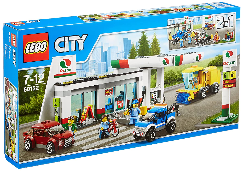レゴ (LEGO) シティ ガソリンスタンド 60132   B01AC1B488