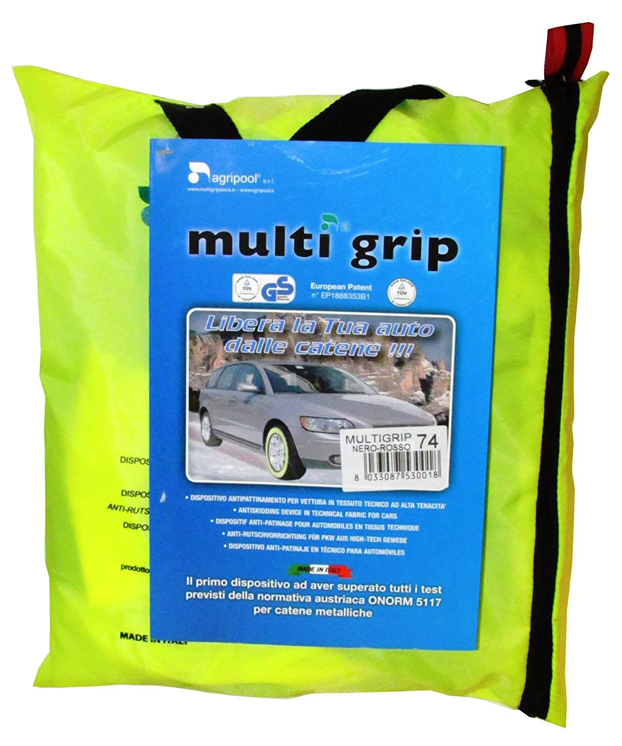 Sumex TG80 Snow Socks Multi-Grip (A Pair) Ototop SRL