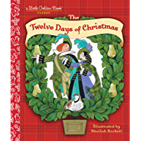 The Twelve Days of Christmas (Little Golden Book) book cover