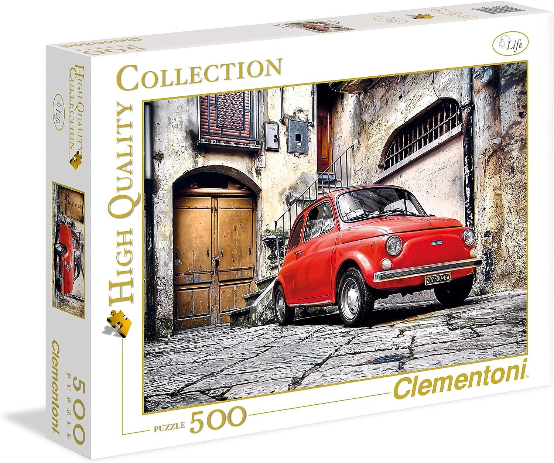 Clementoni - Puzzle de 500 Piezas,, diseño 500 (305759): Amazon.es ...