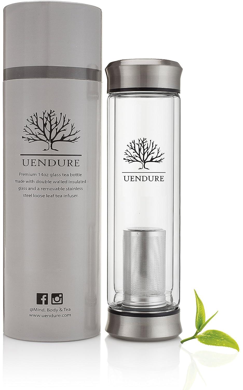 Uendure Tea Infuser Tea Tumbler Tea Cup With Loose Leaf Tea Strainer Portabl Ebay