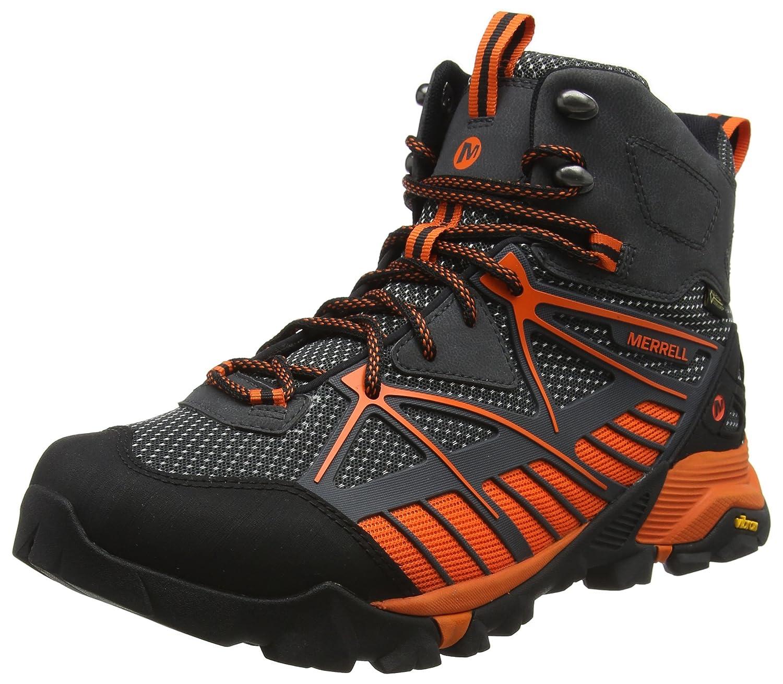 Merrell Herren Capra Venture Mid GTX Surround Trekking-Wanderstiefel  44.5 EU|Grau (Granite)
