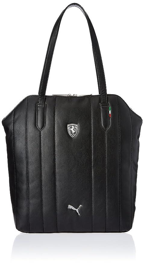 PUMA Ferrari LS Shoulder Bag Tote Bag in Black 07267501  Amazon.ca ... a5415cfede1a3