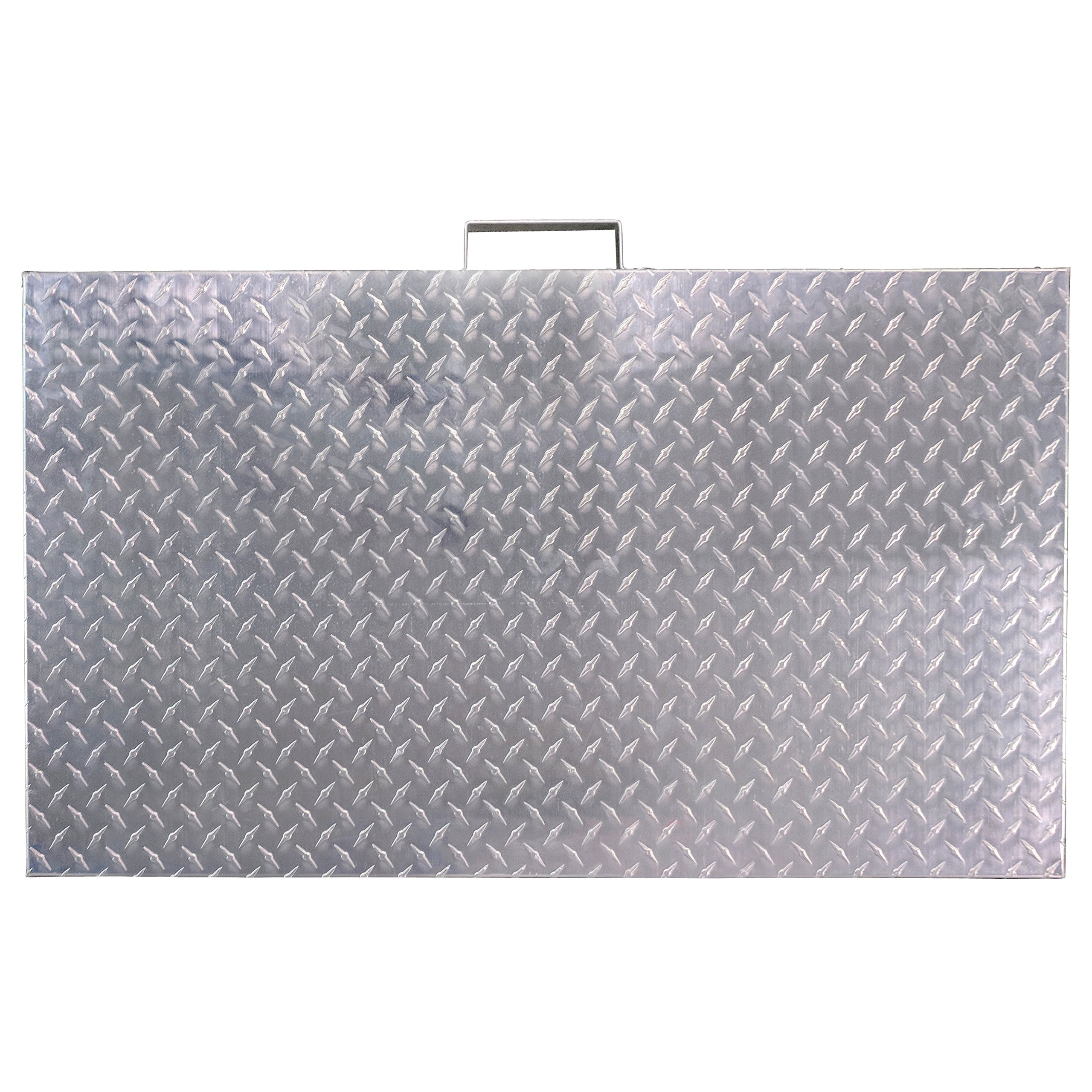 Titan Diamond Plated Aluminum Grill Cover Fits 36'' Blackstone Griddle by Titan Great Outdoors (Image #4)