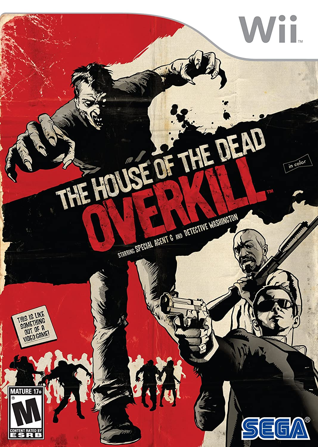 Amazon Com House Of The Dead Overkill Nintendo Wii Video Games