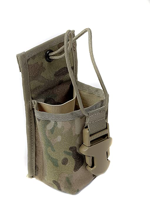 Mini Tactiacl Cord Clip For Walkie Emt Coyote Brown Other Militaria
